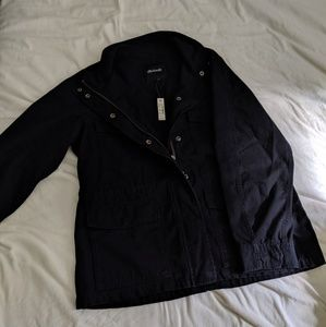NWT Madewell Surplus Jacket (black)